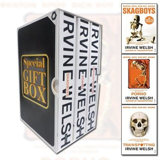 Irvine Welsh Collection 3 Books Bundle Gift Wrapped Slipcase Specially For You