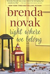 Right Where We Belong (Silver Springs, #4) Pdf Book
