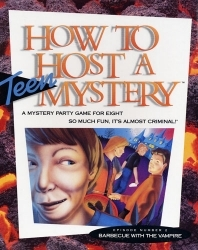 Barbecue with the Vampire (How to Host a Teen Mystery, #2)