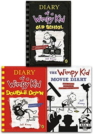 Diary of a Wimpy Kid Collection 3 Books Set by Jeff Kinney