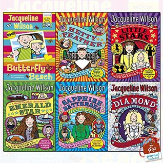 Hetty Feather Series Jacqueline Wilson Collection 6 Books Bundle With Gift Journal