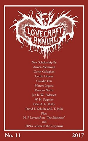 Lovecraft Annual No. 11 (2017)