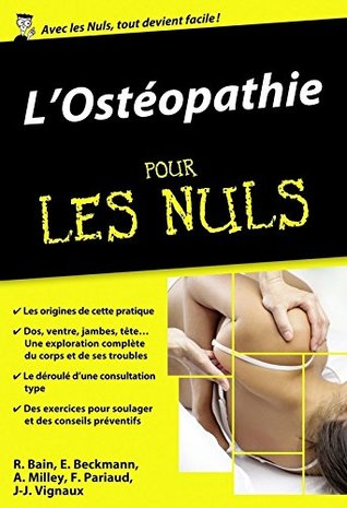 L'ostéopathie pour les Nuls