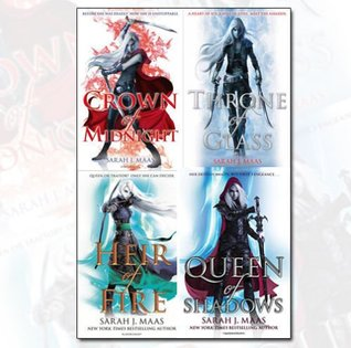 Throne of Glass Series Collection (Throne of Glass #1-4)