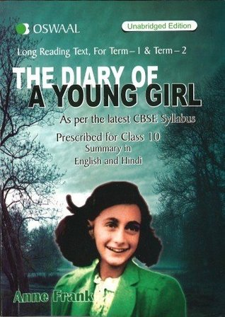 Oswaal CBSE The Diary of a Young Girl for Class 10
