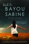 Back to Bayou Sabine