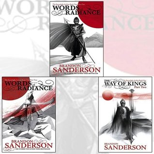 The Stormlight Archive Bundle: Words of Radiance Part One, Words of Radiance Part Two, The Way of Kings Part Two