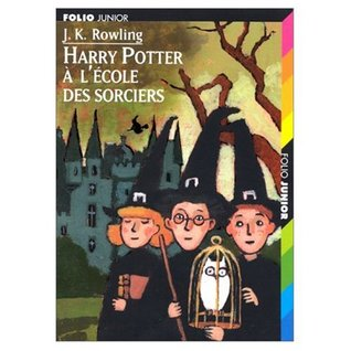 "Harry Potter a l'Ecole des Sorciers (French ""Harry Potter and the Sorcerer's Stone"") 2 Audio MP3 compact discs"