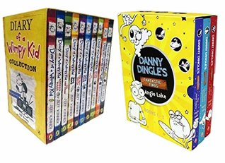 Diary of a Wimpy Kid Box Set With Danny Dingle's Fantastic Finds 13 Book Collection Set (