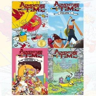 Adventure Time Collection 4 Books Bundle (Adventure Time Vol.4,Adventure Time Vol.5,Adventure Time Vol.6,Adventure Time Vol. 7)