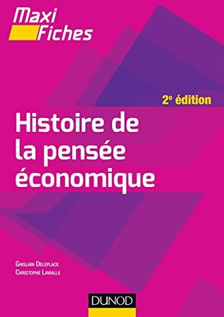 Maxi fiches - Histoire de la pensée économique - 2e éd. (Economie)