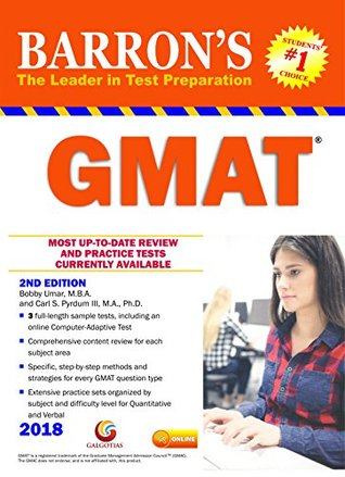 Barrons GMAT 2nd edition
