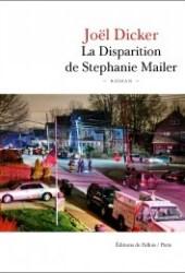 La Disparition de Stephanie Mailer Book
