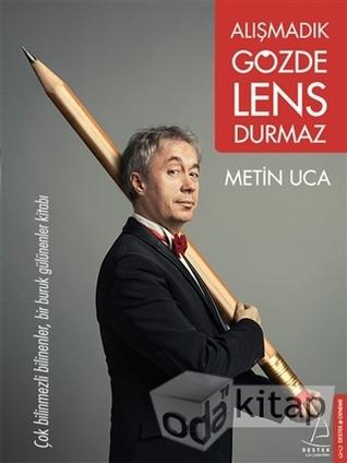 Alışmadık Gözde Lens Durmaz Kitap Kapağı