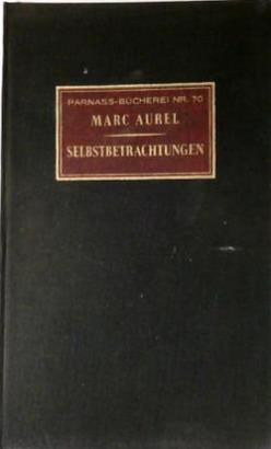 Sebstbetrachtungen (Parnass-Bücherei, #70)