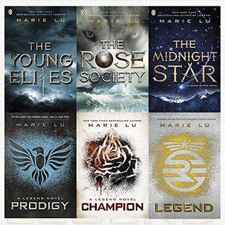 Marie Lu Collection Legend & Young Elites Series 6 Books Bundles