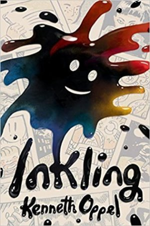 Inkling by Kenneth Oppel | Featured Book of the Day | wearewordnerds.com