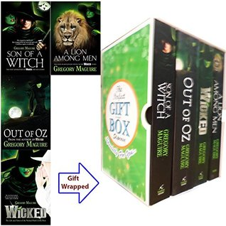 Wicked Years Series Gregory Maguire Collection 4 Books Bundle Gift Wrapped Slipcase Specially For You