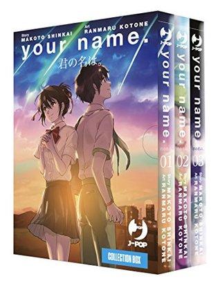 YOUR NAME BOX #01-03 (MANGA) -