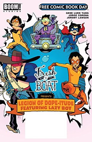 Free Comic Book Day 2017 - Fresh Off the Boat (BOOM! FCBD 2017: Fresh Off the Boat)
