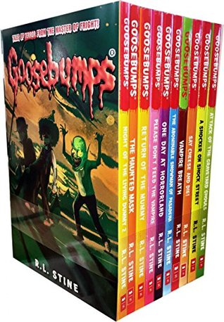 Goosebumps Series 10 Books Collection Set by R.L.Stine (Classic Covers Set 2)