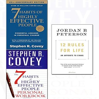 12 rules for life [hardcover],7 habits of highly effective people,personal workbook 3 books collection set