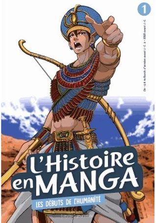 L'histoire en manga - Tome 1 : Les débuts de l'humanité