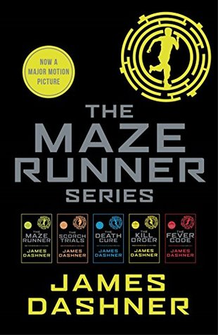 Maze Runner series ebooks (5 books)