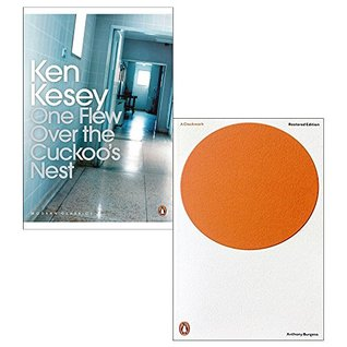 One flew over the cuckoos nest and a clockwork orange 2 books collection set