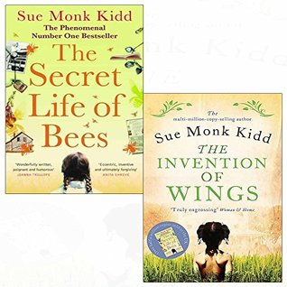 Sue monk kidd secret life of bees, invention of wings 2 books collection set