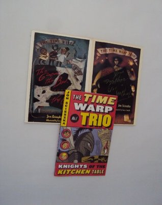 Book Set Time Warp Trio Books : The Knights of the Kitchen Table - Your Mother Was a Neanderthal - The Good, The Bad, the Goofy