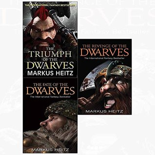 Dwarves markus heitz triumph, fate, revenge 3 books collection set