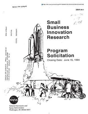 Small Business Innovation Research Program Solicitation
