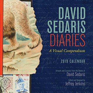 David Sedaris Diaries 2019 Wall Calendar