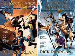 Heroes of Olympus, The: The Graphic Novel (2 Book Series)