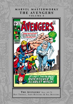 Marvel Masterworks: The Avengers, Vol. 8