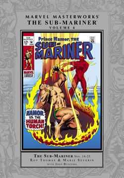 Marvel Masterworks: The Sub-Mariner, Vol. 4