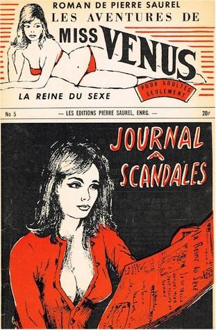 Les aventures de miss Venus, la reine du sexe #5 - Journal à scandales