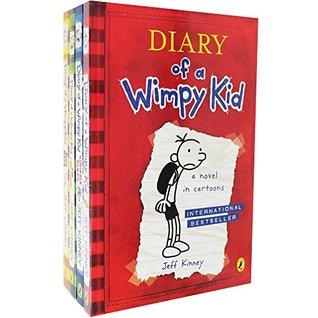 Diary of a Wimpy Kid: 4 book shrinkwrap