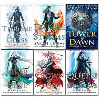Throne of Glass Series Collection (Throne of Glass #1-6)
