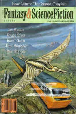The Magazine of Fantasy & Science Fiction, August 1990