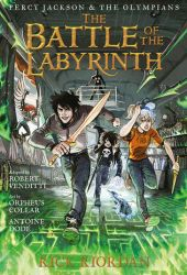 The Battle of the Labyrinth: The Graphic Novel (Percy Jackson and the Olympians, #4) Pdf Book