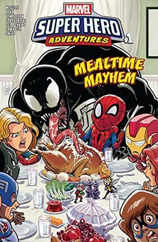 Marvel Super Hero Adventures: Captain Marvel - Mealtime Mayhem (2018) #1 (Marvel Super Hero Adventures (2018-))