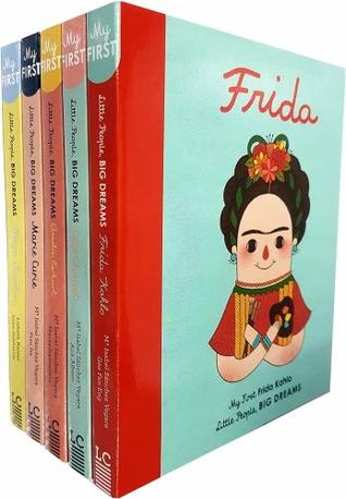 Little People, Big Dreams Collection 6 Books Bundle