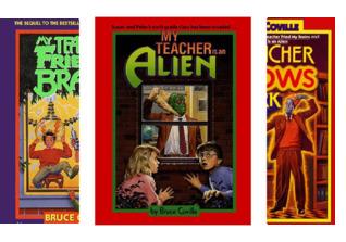 My Teacher Is An Alien (4 Book Series)