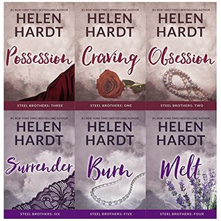 Steel brothers saga series 1 and 2 by helen hardt 6 books collection set