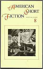 American Short Fiction (Volume 2, Issue 8, Winter 1992)