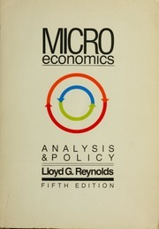 Microeconomics: Analysis and Policy