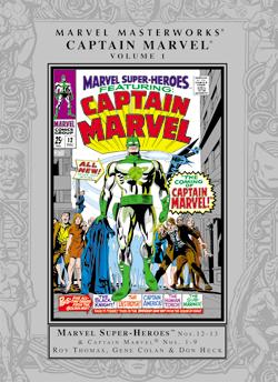 Marvel Masterworks: Captain Marvel, Vol. 1