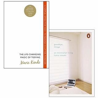 Life Changing Magic of Tidying Up / Goodbye, Things: 2 books collection set
